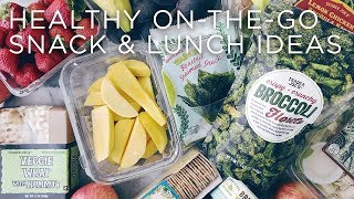 Healthy On-The-Go Snack + Lunch Ideas | Back-to-School #LivAndLearnARMY