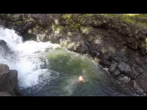 Hiking Ho'opi'i Falls