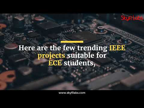 Latest IEEE ECE (Electronics & Communication) Projects