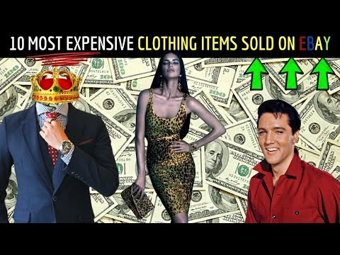 10 Most Expensive Clothing Items Sold On Ebay In 2017