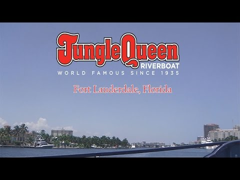 Jungle Queen Riverboat Cruise Fort Lauderdale, Florida