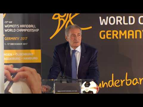 The 23rd IHF Women's Handball World Championship draw