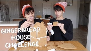 ULTIMATE TWIN GINGERBREAD CHALLENGE!