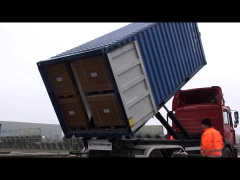 Cargo Stowage Capabilities of Dunnage Bags - video by Cordstrap