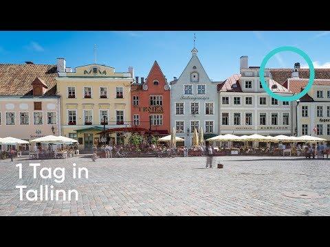VLOG #7 - 1 Tag in Tallinn in 5 Minuten: Sehenswürdigkeiten & Tipps / Follow us around