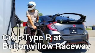1ST LOOK: 2017 Honda Civic Type R on track at Buttonwillow Raceway CW13 w/ Laptime