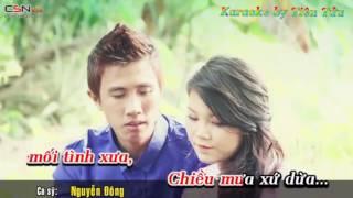 Chiều Mưa Xứ Dừa-Karaoke-Nguyễn Đông