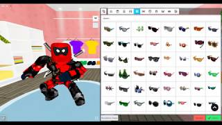 🔪HOW TO MAKE DEADPOOL IN ROBLOXIAN HIGHSCHOOL✔