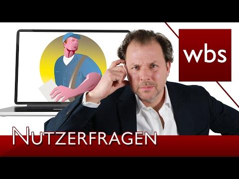 Nutzerfragen: Spionagekameras & Postboten | Rechtsanwalt Christian Solmecke