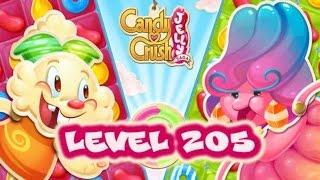 Candy Crush Jelly Saga Level 205 - Liquorice Larry