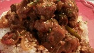 STOVE  TOP  BEEF  OXTAILS