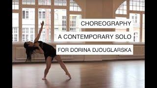 """Melodreeze"" A Contemporary Dance Solo Choreography for & with Dorina Djouglarska"