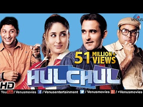 Hulchul  Hindi Movies 2016 Full Movie  Akshaye Khanna  Kareena Kapoor  Bollywood Comedy Movies