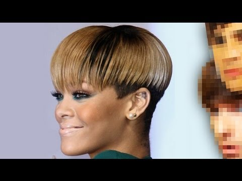 Rihanna Bowl Cut Hairstyle Hair Color Ideas And Styles For 2018