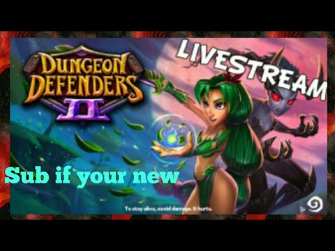 Leveling Up  Check out my buddy's channel Link in the description - Dungeon Defenders 2