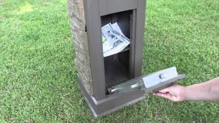 Postal Vault Secure Locking Mailbox