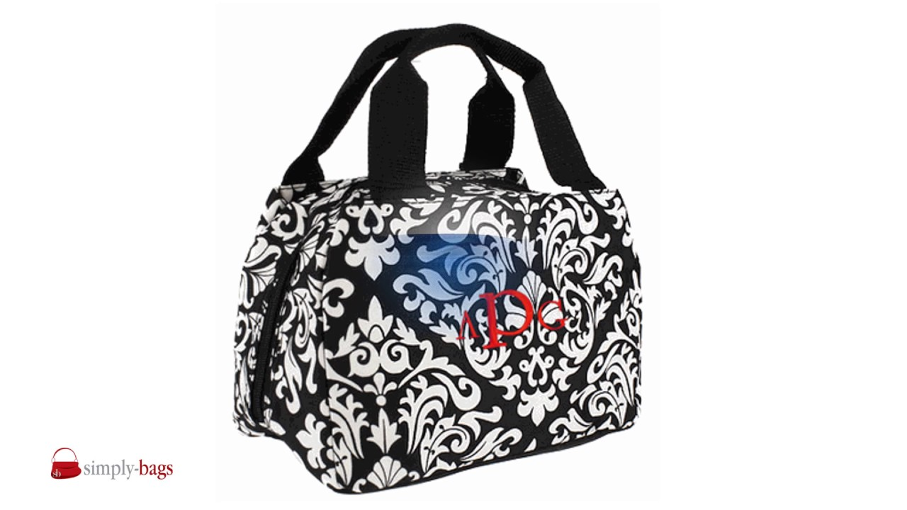 9ebc5e2b4ee8 Personalized Lunch Bags - Monogrammed | Embroidered