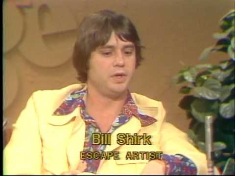 Bill Shirk Escape Artist Cleveland TV Show