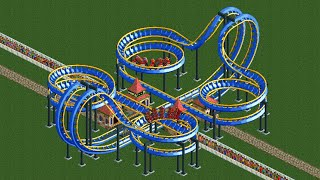 6 Cool Mobius Coaster Designs in RCT2