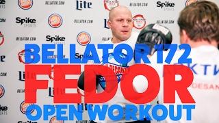Fedor Emelianenko Bellator 172 Open Workout V...
