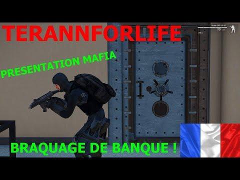 Arma 3 - Terann For Life - Mafia - Présentation et braquage de Banque !