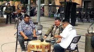 Santa Fe Indigenous Day Commemoration 2018 -  Sun Hill Drums