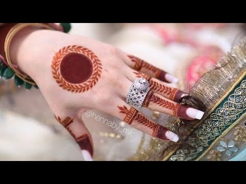 Simple Gol Tikki Mehndi Designs For Hands Easy Arabic Mehendi Design Beginners Mehndi For Back Youtube