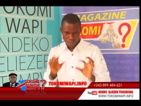 TOKOMI WAPI DU13 11 2017 NINI ElAMUKI  LELO NA CONGO