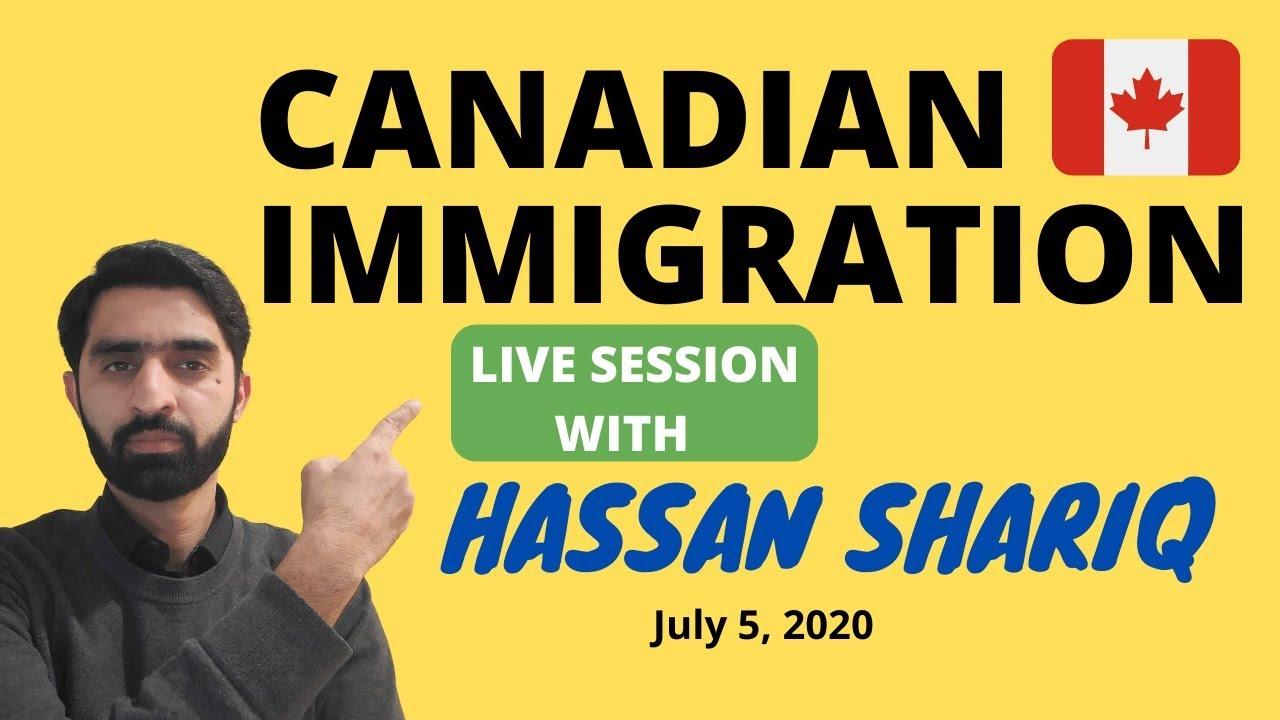 Canadian Immigration Live Q&A Session