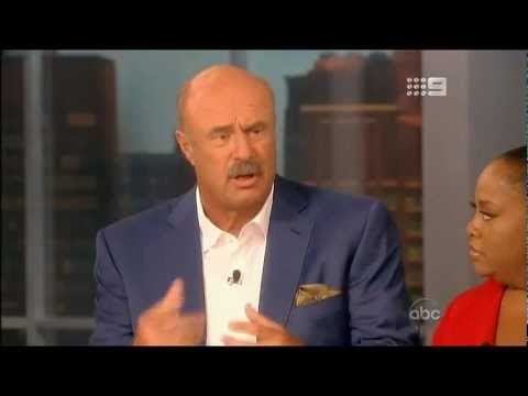 Dr Phil McGraw The View 1