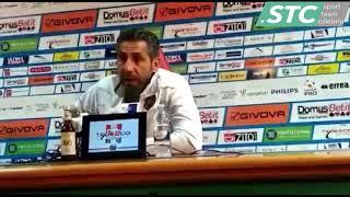 Mister Cevoli dopo Catania-Reggina 4-1 [15/05/2019]