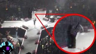 5 паранормальных вещей, снятых на живых концертах