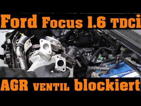 AGR-Ventil EGR Abgasrückführung Krümmer Ford Focus Galaxy Mondeo 1.8TDCI
