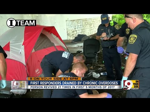 First responders drained by chronic overdoses
