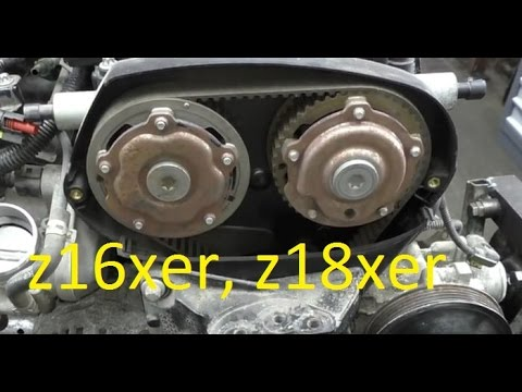Camshaft gear adjusters replacement on z16xer z18xer Astra