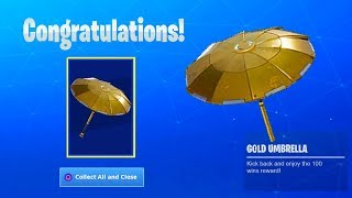 The New GOLDEN UMBRELLA Coming To Fortnite..