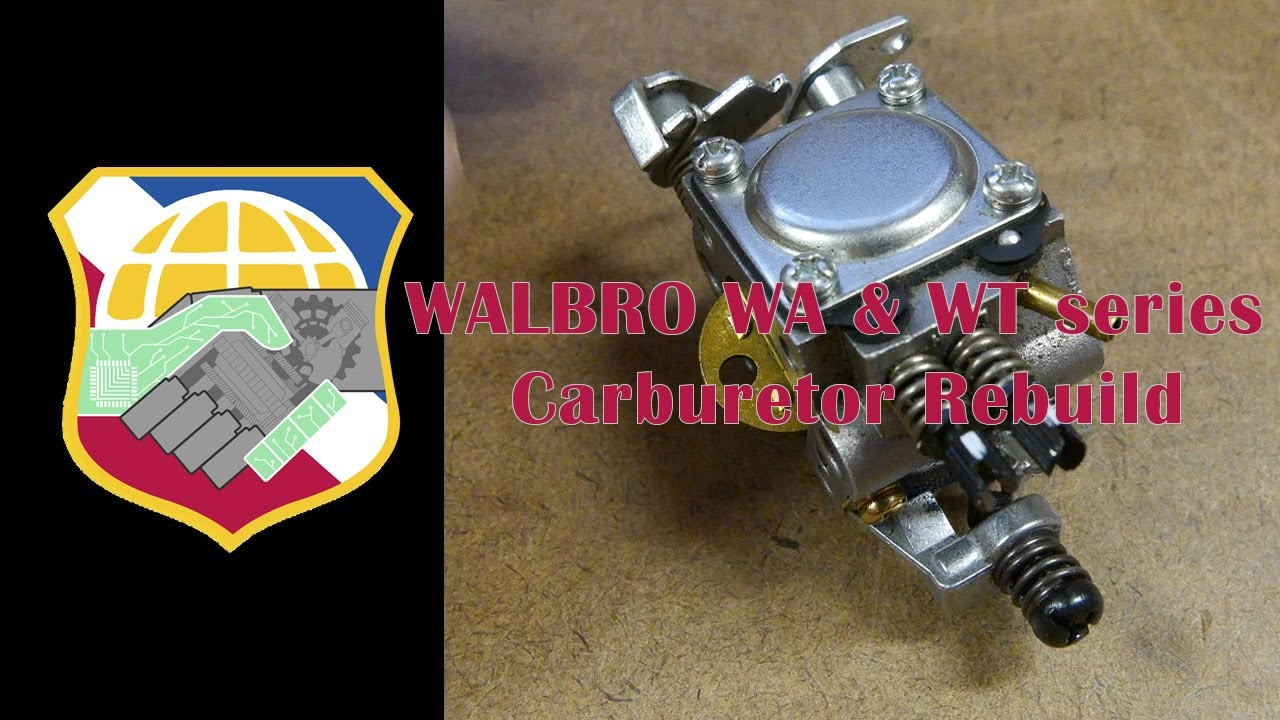 walbro wa wt series carburetor rebuild repair clean carb kit k10 rh youtube com Oregon Carburetor Cross Reference Walbro Carburetor Cross Reference Chart