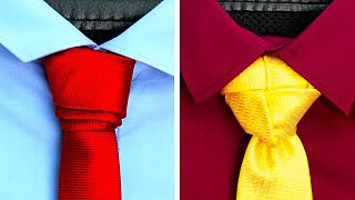 26 AMAZING WAYS TO TIE YOUR TIE AND LOOK PERFECT
