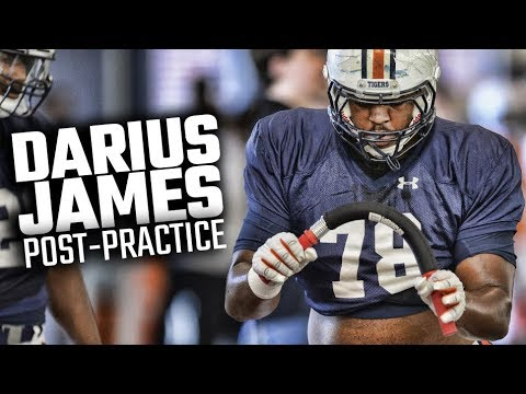 Darius James Discusses Auburn's 2nd Fall Scrimmage