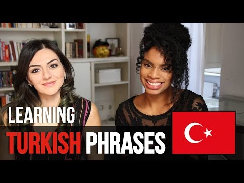 AMERICAN TRYING TURKISH PHRASES 🇹🇷 | LANGUAGE SERIES
