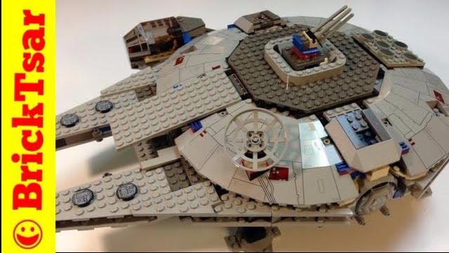 LEGO Star Wars 7190 Millennium Falcon Vintage Set From 2000 1st One