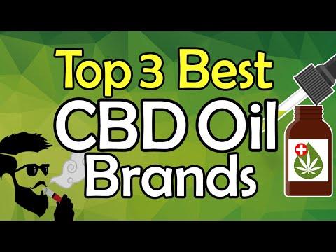 Top 3 Best CBD Oil Brands Review || Cannabidiol