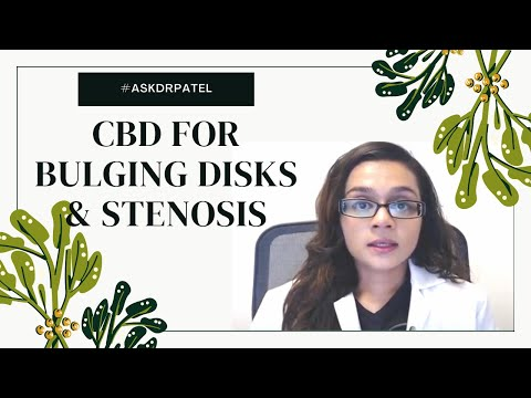 Does CBD Help With Severe Stenosis & Bulging Disks?