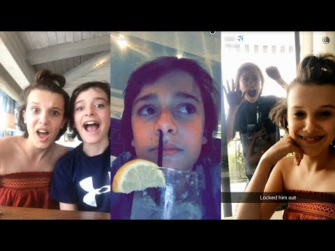 Millie Bobby Brown x Noah Schnapp Funny/Cute Moments [#Nillie or #Moah ?]