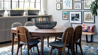 Interior Design — Cool & Colorful Toronto Loft Makeover