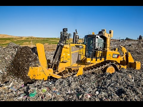 Cat D9T Dozer: EnviroWaste @ Hampton Downs, NZ