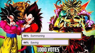 Summon For Lr Broly Or Save For 4 Year Anniversary