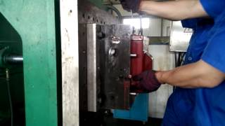 Resin transfer molding machine produce PT first mold