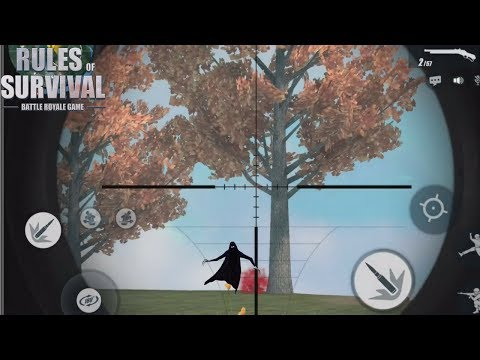 GHOSTS IN RULES OF SURVIVAL? Weirdest Game Of ROS Mobile!