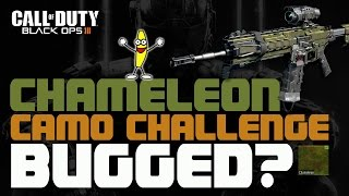 black ops 3 bloodthirsty medals not registering for the chameleon challenge chameleon camo